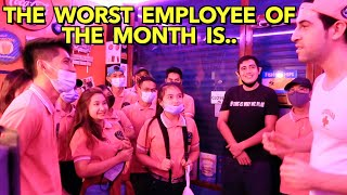 PRANK Awarding on my CREW + SALARY & Gifts to Team YOLO FAMILY! 🇵🇭