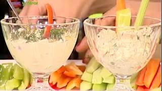 Оригинальная овощная закуска. Час у дачи. 24/08/2017. GuberniaTV