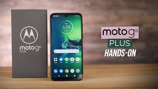 Moto G8 Plus Hands-on: Action Camera and Big Battery