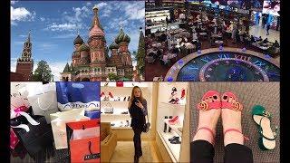 Shopping Vlog /Moscow /бренды * обувь* косметика *парфюмерия* примерки  одежды
