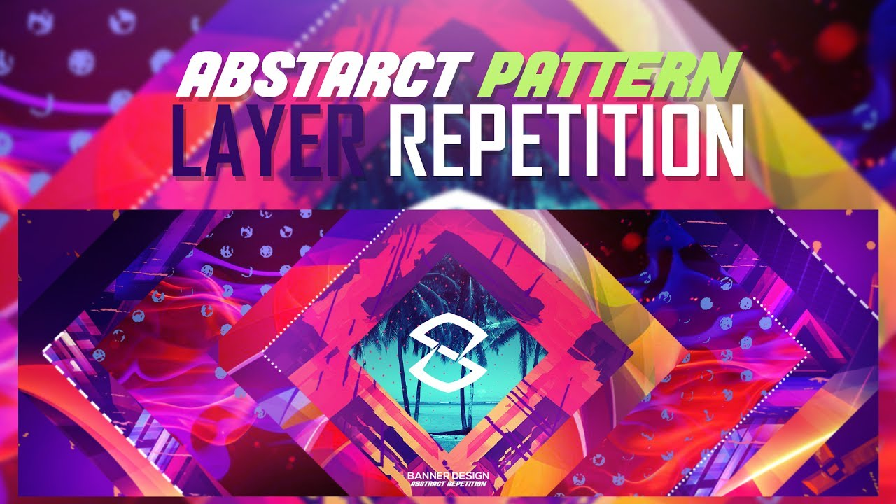 Photoshop Tutorial: Abstract Pattern Layer Repetition