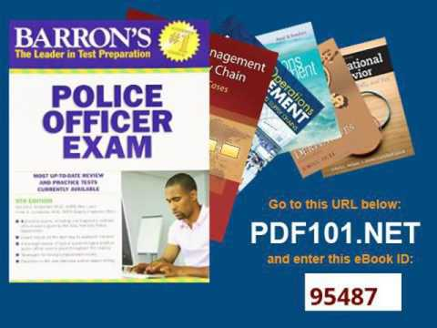 barrons police officer exam 9th edition