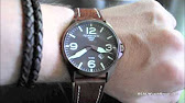 cb36d8ac893 Torgoen T16302 Swiss Professional Pilots Watch - YouTube