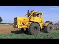 Russischer Kirowez K700A pflügt - 2/2 - Russian Tractor Plowing