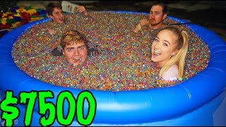 Last to leave ORBEEZ pool wins $7500...