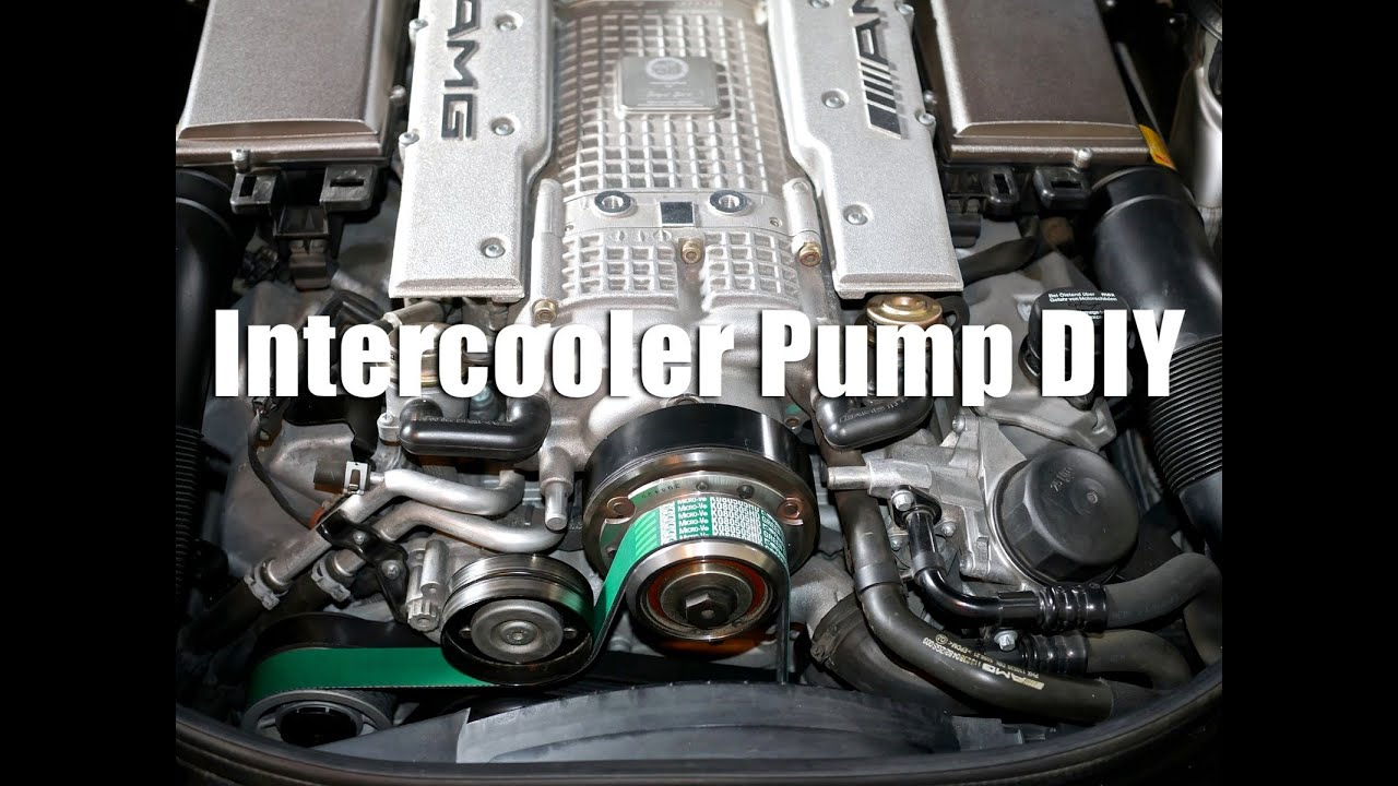 mercedes e55 amg | bosch 010 ic pump diy - youtube