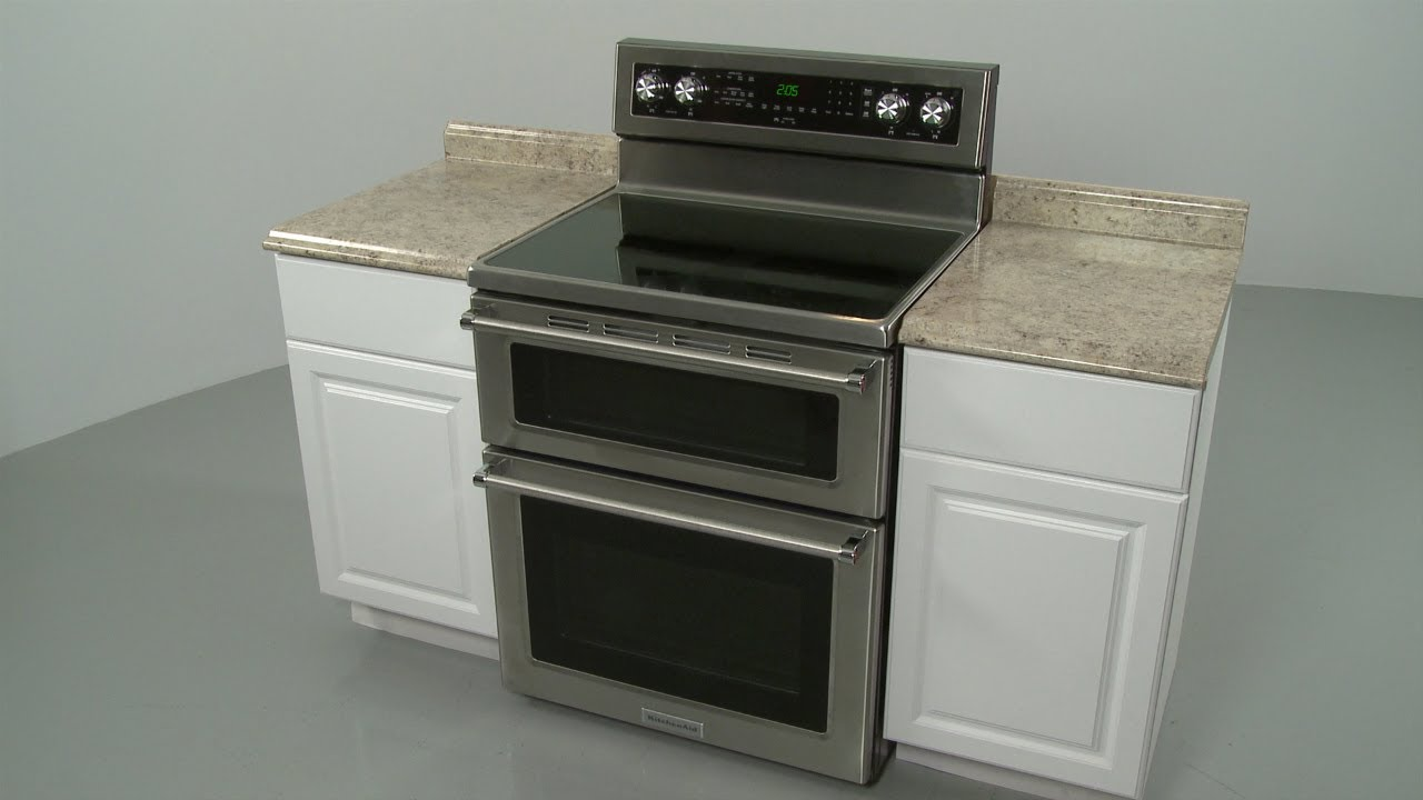 Kitchenaid Double Oven Electric Range Installation Model