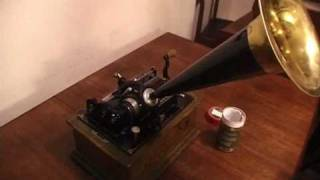 London Dorkbot recording made on Edison Standard Phonograph (1904)