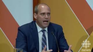 Federal NDP Leadership Candidates Debate in Saskatoon