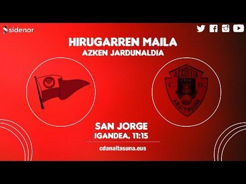 HIRUGARREN MAILA   Santurtzi 1-4 C.D. Anaitasuna