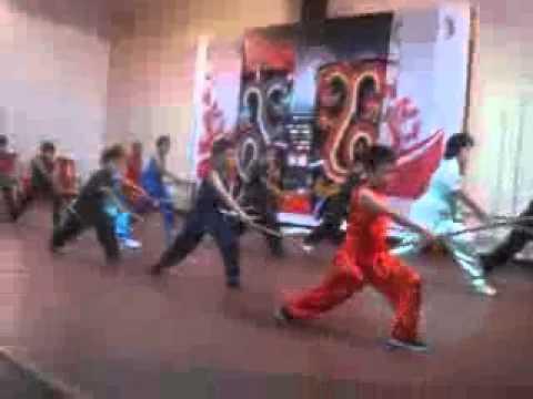 Mauritius,Chinatown Festival, Kids Wu Shu presentation.wmv