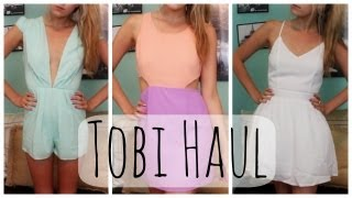 HUGE Clothing Haul from Tobi