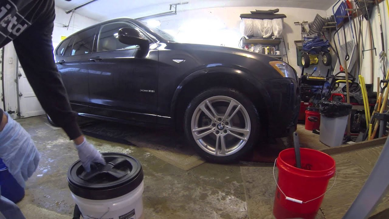 Car Detailing Garage : How to wash your car in garage without a hose youtube