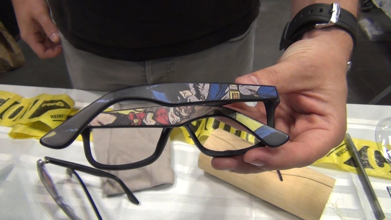 Real Comic Book Glasses! - Sires Crown Eyewear