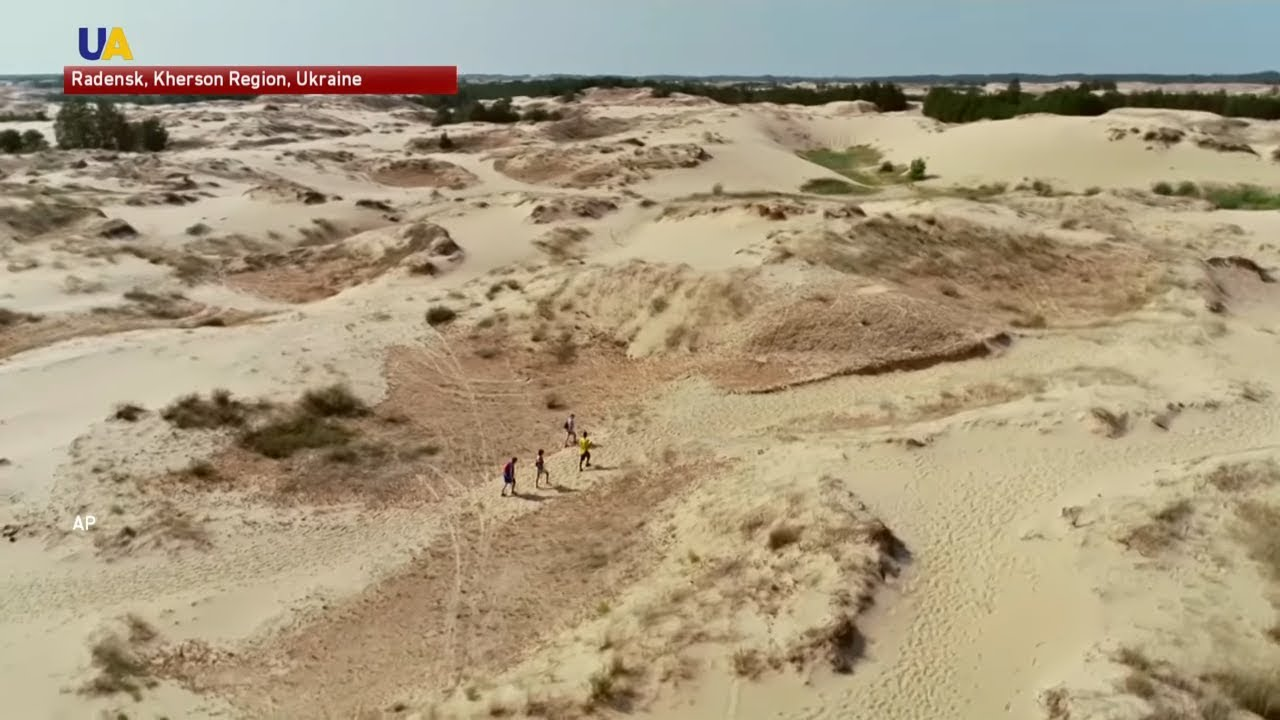 The Largest Desert in Ukraine Turns into a Vacationer Attraction