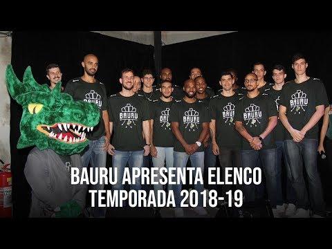 Sendi/Bauru Basket apresenta elenco para Temporada 2018-19