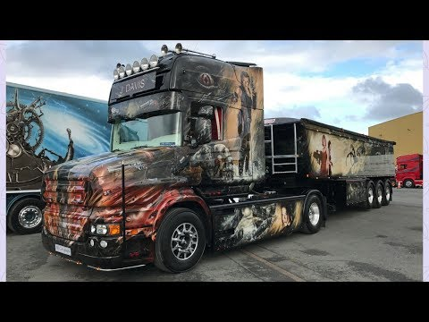 Full of the Pipe 2017 Biggest Truck Show in Ireland - Stavros969