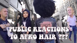 Hidden Camera: Public Reactions to Afro Hair - Natural Hair Documentary NAPPY ROOTS