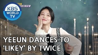Yeeun dances to 'Likey' by TWICE [Happy Together/2018.12.13]