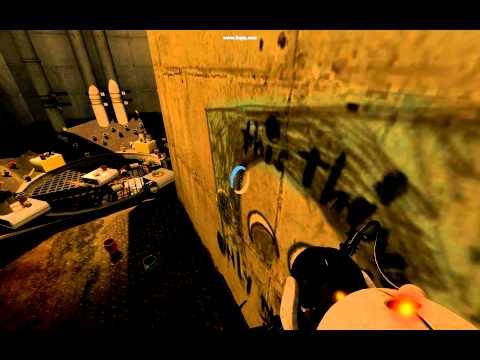 Portal 2 - Weird Rat Man song easter egg?