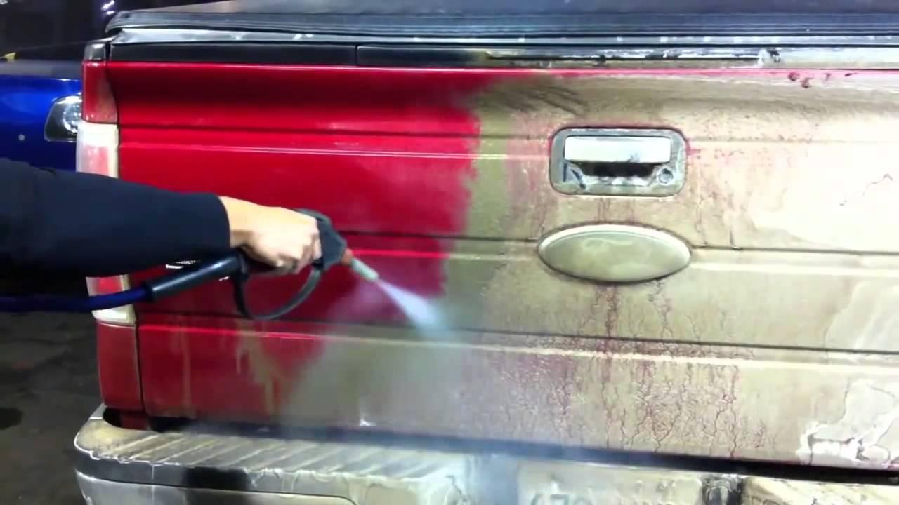 thick mud and salt cleaning optima steamer steam car wash. Black Bedroom Furniture Sets. Home Design Ideas