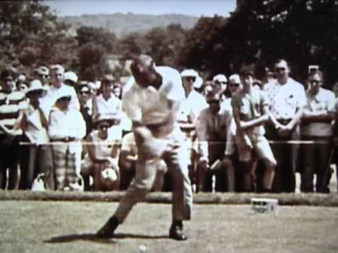 Arnold Palmer Golf Swing / Frame-by-Frame (1960)
