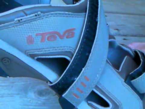 e7627093c044 How to de-wraptor TEVA WRAPTOR Sandals - YouTube