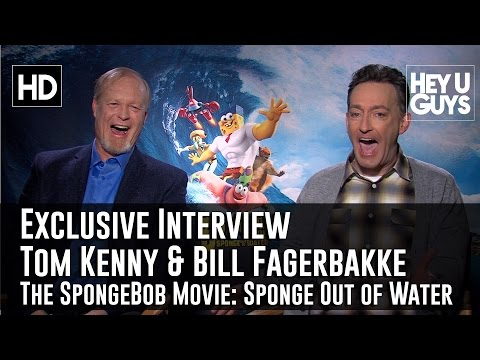 Tom Kenny and Bill Fagerbakke Exclusive   The SpongeBob Movie: Sponge Out of Water