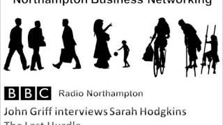 Sarah Hodgkins from The Last Hurdle talks Networking on BBC Radio Northampton