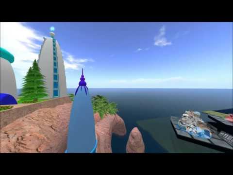 Inworldz virtual Elven Temple (ICE Nov. 2015)