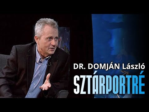 Dr. Domján László interjú - Sztárportré