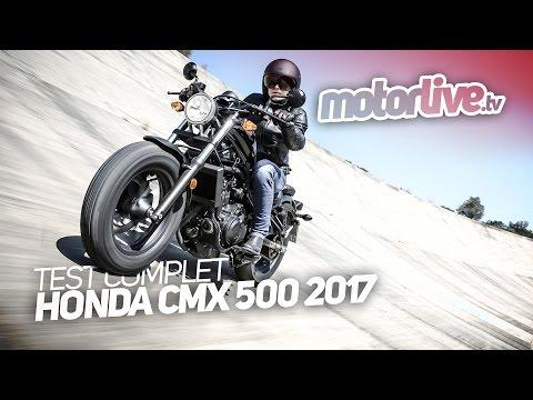 HONDA CMX 500 2017 | TEST COMPLET