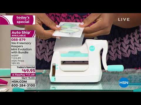 HSN | Paper Crafting Tools & Supplies 01.08.2019 - 08 AM