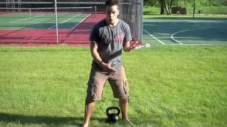 How to do the Kettlebell Clean