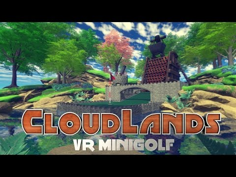 VR MINI GOLF WITH FRIENDS | Cloudlands VR Minigolf | HTC VIVE