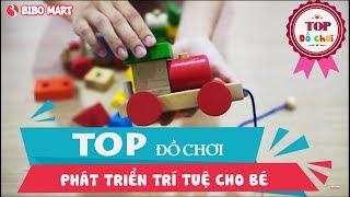 Top đồ chơi phát triển trí tuệ cho bé