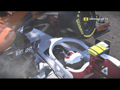 3D simulation shows how Halo saved Leclerc's life | F1 2018