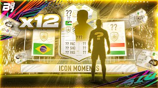 10 X PRIME ICON MOMENTS PACKS! | FIFA 21 ULTIMATE TEAM
