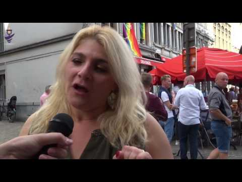 Interview Sandra Kim Antwerp Pride 2016