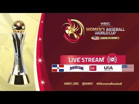 Dominican Republic - USA - Super Round - Women's Baseball World Cup 2018