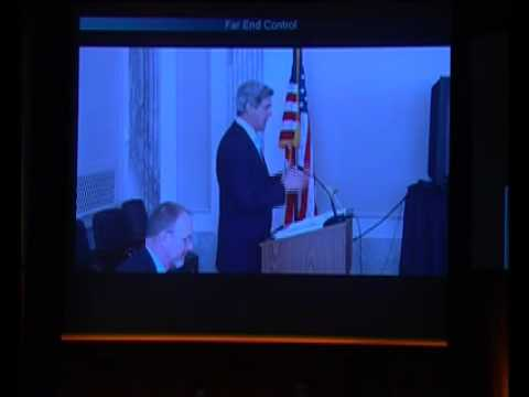 Senator John F. Kerry, Chair, U.S. Senate Committee on Foreign Relations  01