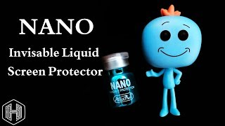 Nano Invisible Liquid Screen Protector How To Apply And Scratch Test | Kurdish