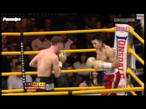 Lee Glover vs Choi Tseveenpurev Featherweights Prizerfighter  Boxing Knock Out HD