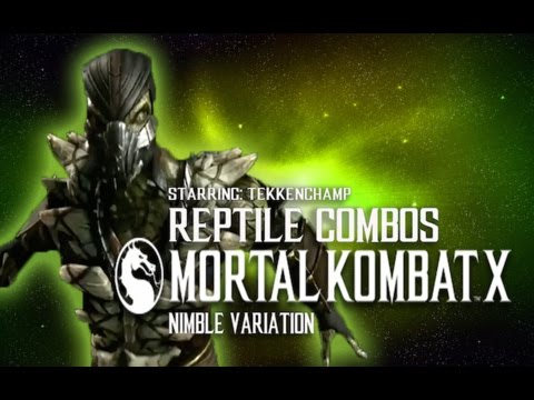 Reptile 10 hit combo mkx