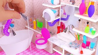 DIY Miniature Dollhouse Bathroom (part I) thumbnail
