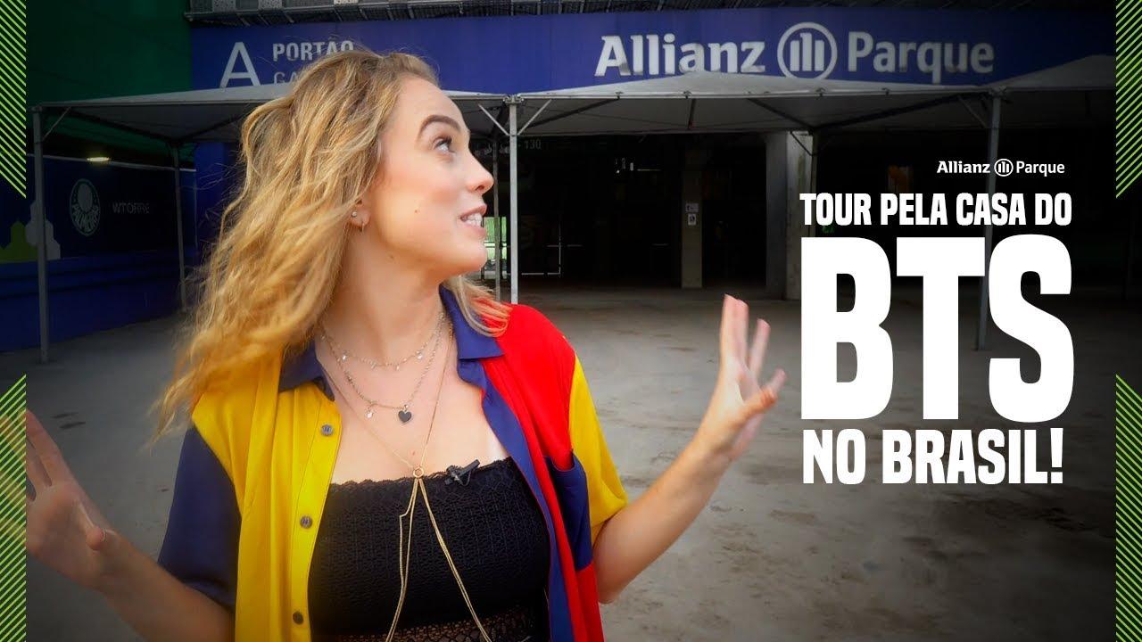 UM TOUR PELA CASA DO BTS NO BRASIL