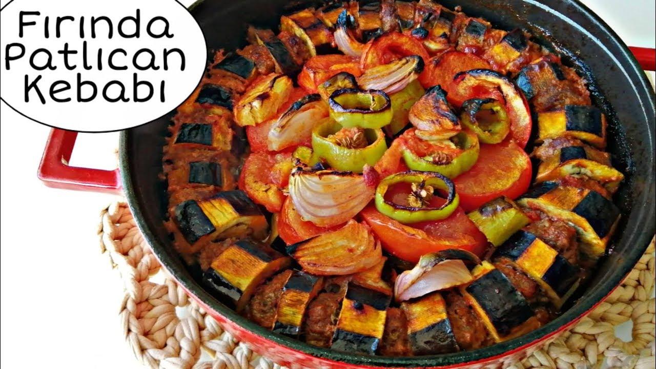 Ramazana Yakışacak Nefis Bir Fırın Yemeği Fırında Patlıcan Kebabı Tarifi