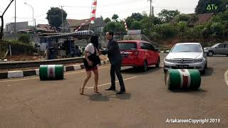 CahayaTerindah Hendardi Vita Berhasil SegitigArtakaroen Behind the scenes