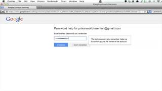 Address recover email How lost to