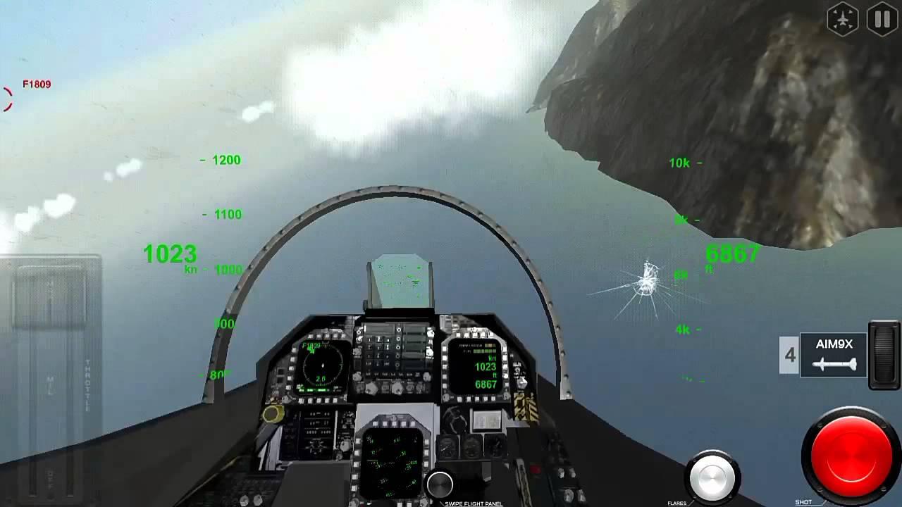 Game Pesawat Tempur Offline Terbaik Android - YouTube